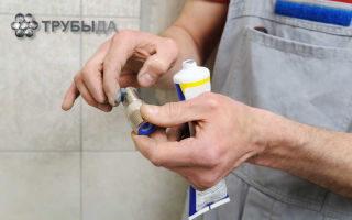 Выбор герметика и уплотнителей для резьбовых соединений водопровода