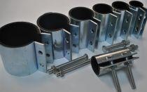 Как выбрать и установить ремонтный хомут на водопроводную трубу?