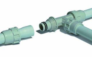 Как правильно соединить пластиковые водопроводные трубы фитингами при монтаже