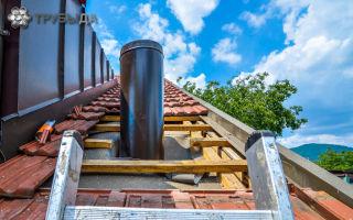Принципы монтажа дымохода в частном доме