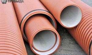 Виды и монтаж гофрированных канализационных труб