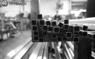Технология изготовления квадратных металлических труб