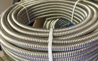 Характеристики и установка нержавеющих гофрированных труб для водопровода