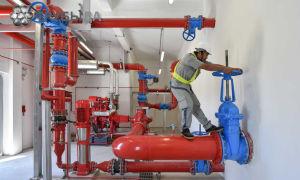 Обустройство и проверка пожарного крана внутреннего противопожарного водопровода