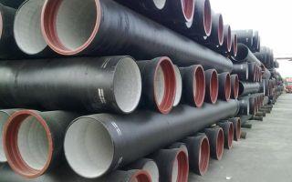 Чугунная канализационная труба для внутридомовой канализации по ГОСТ 6942 98