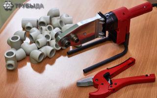 Виды аппаратов для сварки полиэтиленовых труб