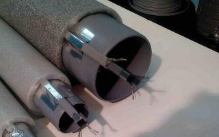Как выбрать греющий кабель для канализационных труб: устройство и монтаж
