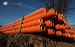 Характеристики и монтаж рыжей канализационной трубы 200