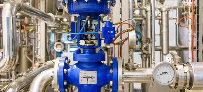 Сферы применения и монтаж задвижек с электроприводом