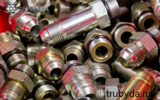 Разновидности и характеристики стальных фитингов