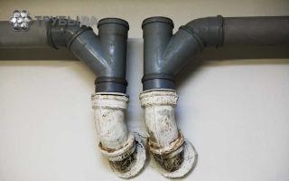 Как можно соединить канализационные трубы разных видов