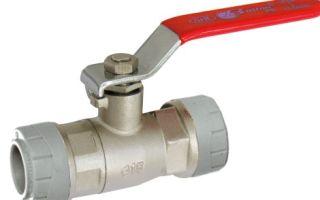 Конструкция и принцип действия водопроводного вентиля