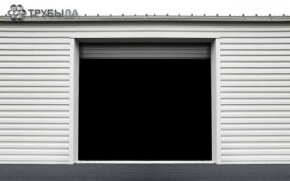 Что нужно знать о возведении гаража из профильной трубы