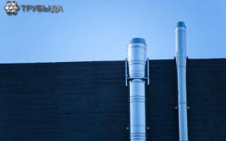 Изготовление дымохода для газового котла своими руками