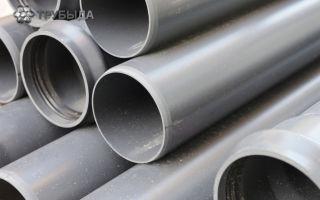 Особенности использования канализационных труб из ПВХ диаметром 50 мм