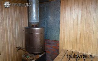 Принципы установки трубы в бане через потолок и крышу