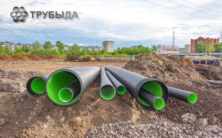 Прокладка канализации с соблюдением охранной зоны водопровода