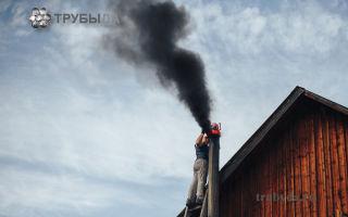 Как провести чистку дымохода своими руками?