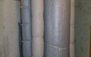 Выбор материалов и проведение самостоятельной звукоизоляции канализационных труб