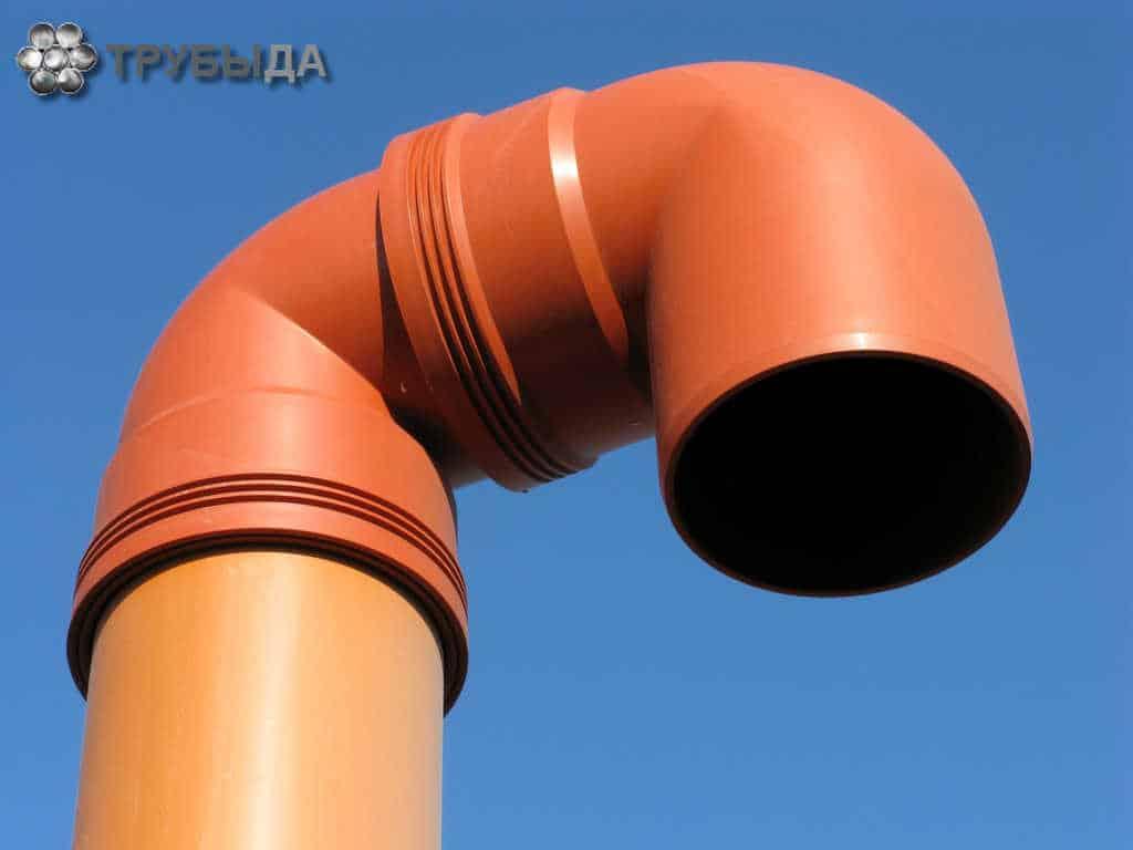Вентиляция из канализационной трубы