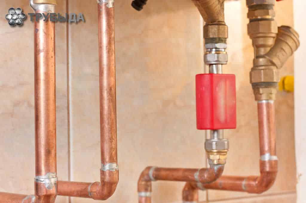 Трубопровод для отопления