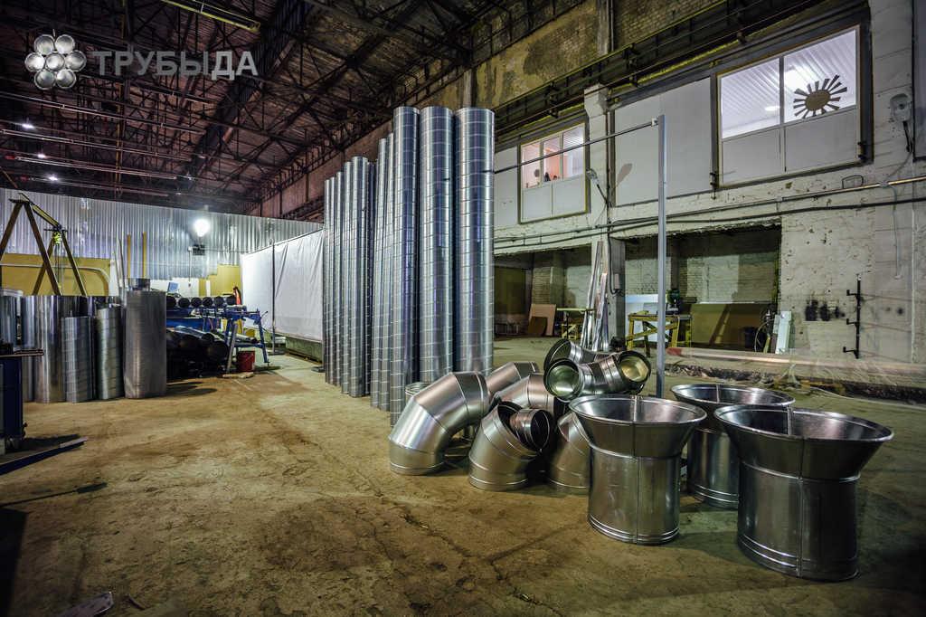 Система воздуховода из оцинкованной стали