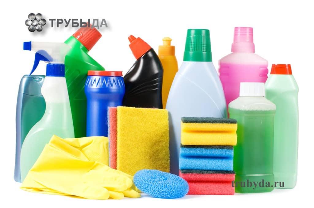 Бытовая химия для чистки