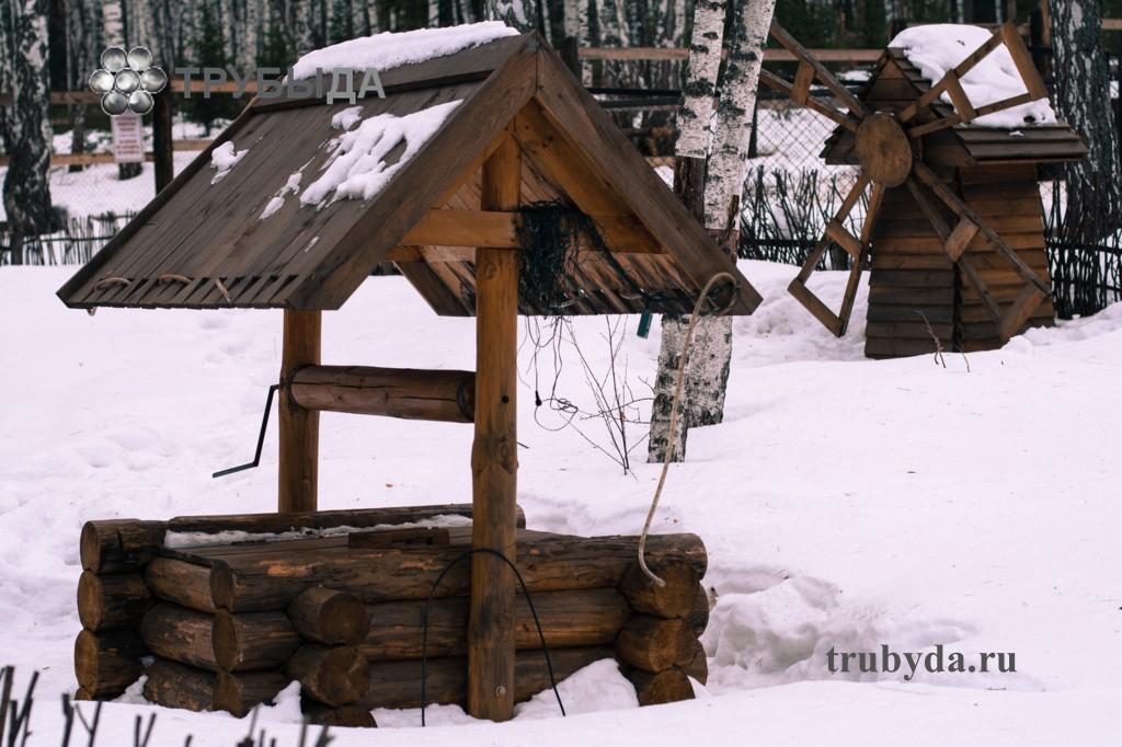 Колодец в зимний период