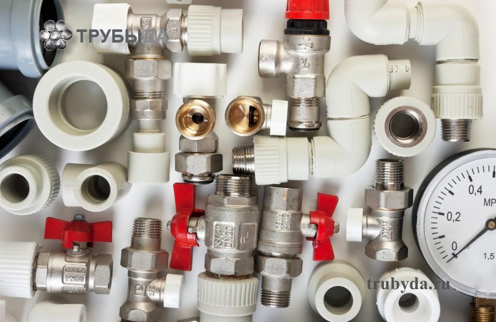 Фитинги для подключения радиатора отопления