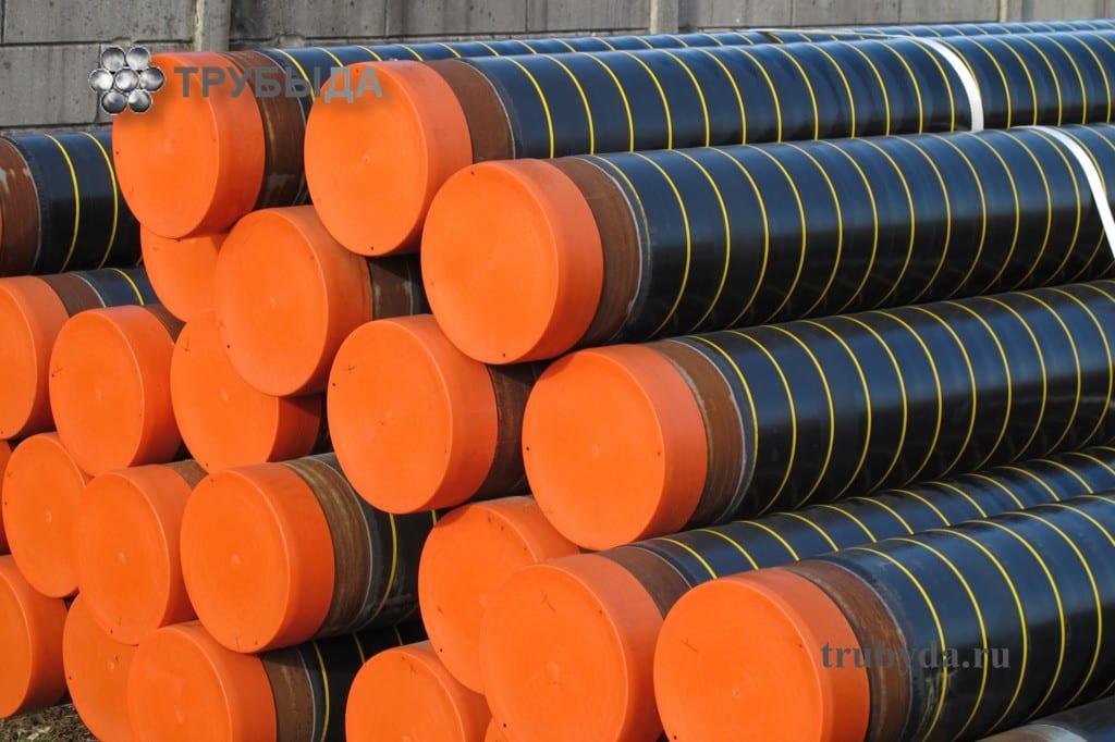 Диаметр пластиковых труб для газа