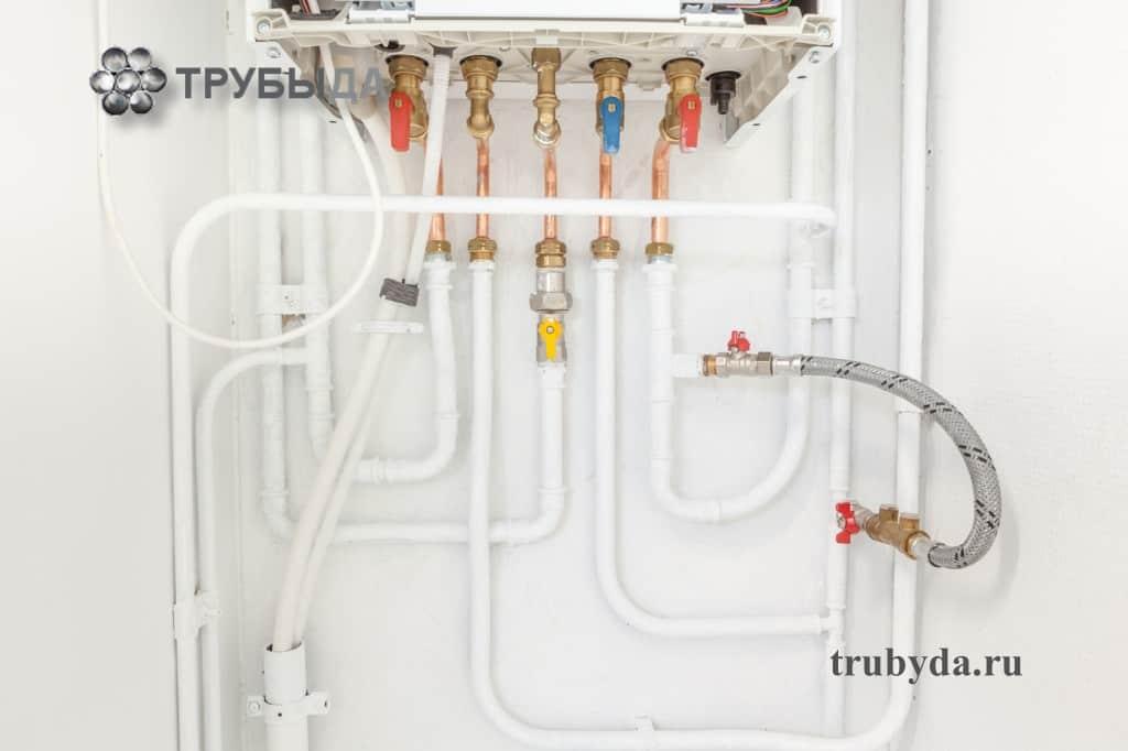 Пластиковые трубы для горячего теплоносителя