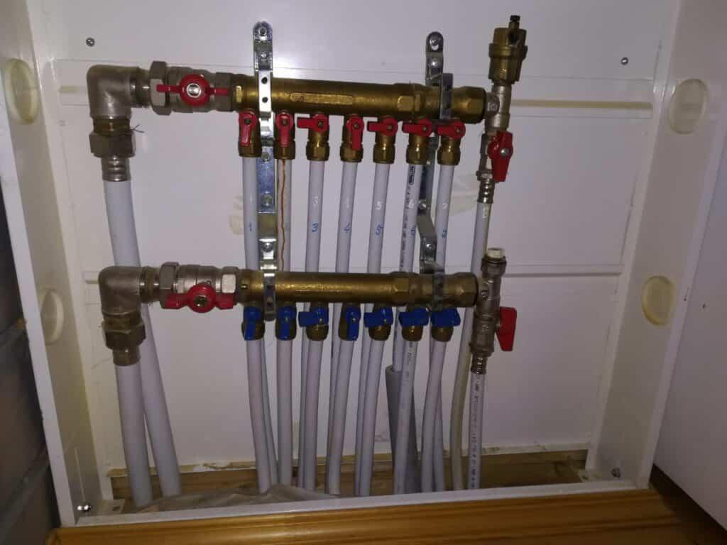 Гребенки в системе отопления